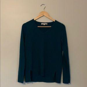 LOFT Lightweight Teal Sweater